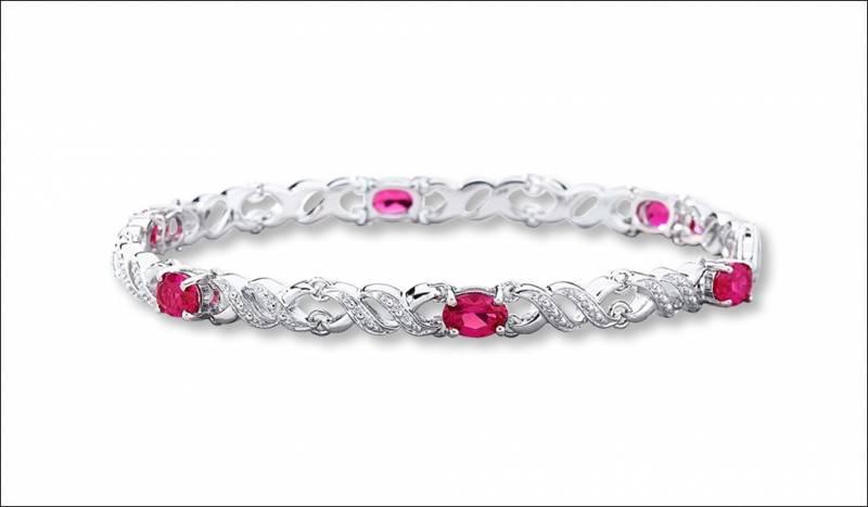 Ravishing Ruby Bracelets