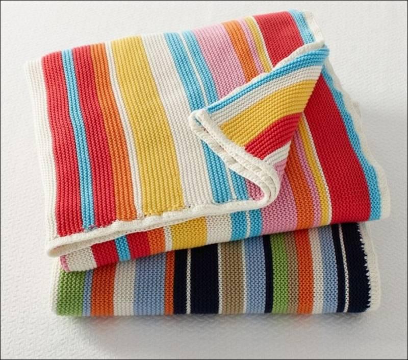 Knitting Pattern For Angel Blanket : Knitted Blankets For Little Angels!