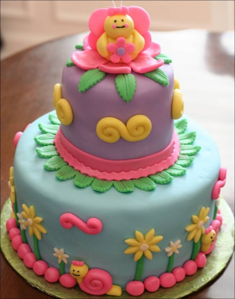 Cakes Decorated With Fondant!