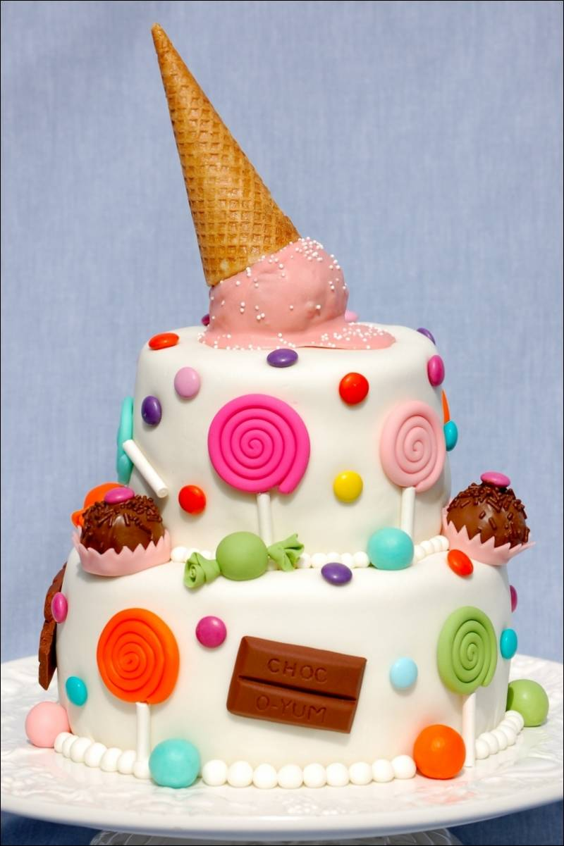 Images For Cute Cake : Cakes Decorated With Fondant!