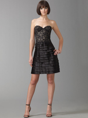 Bcbg  Dress on Cocktail Dress Perfect For The Evenings Out This Strapless Black Dress