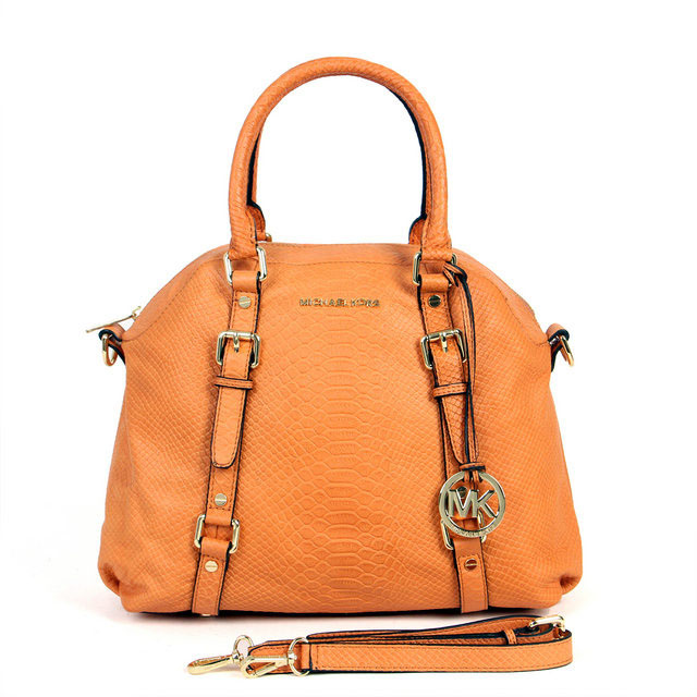 Michael Kors orange handbags for the spring 2013
