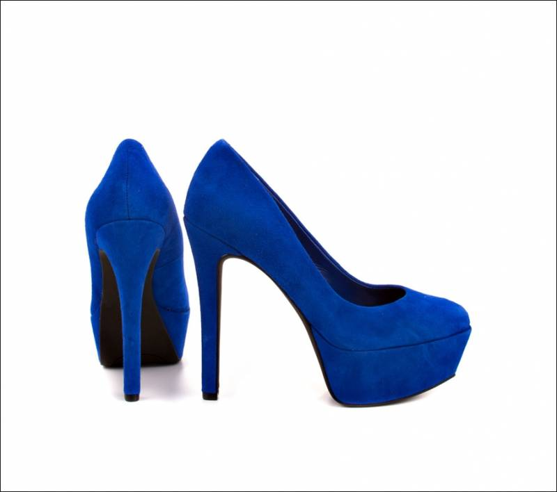 Stylish Board Cobalt Blue Heels for Some High Voltage Fashion!