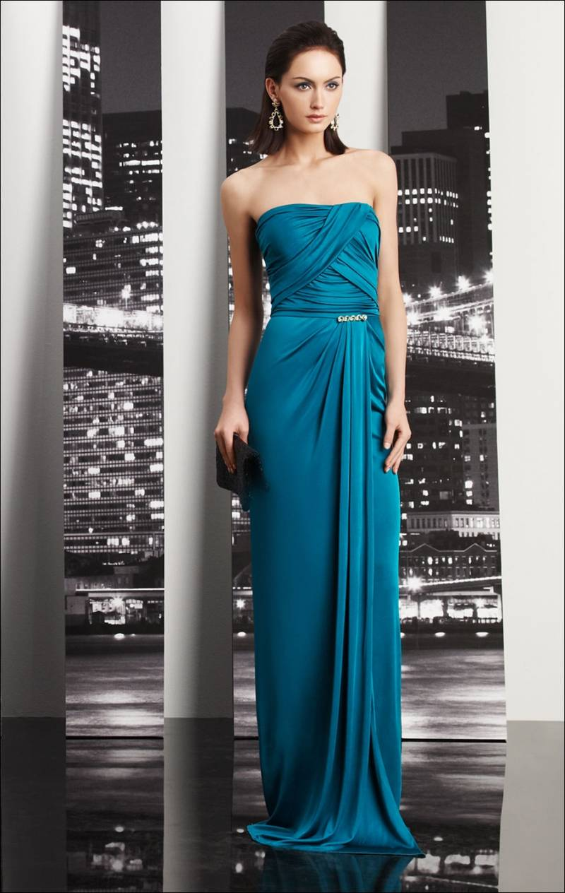 Draped Gowns as Party Wear!