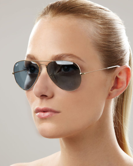 ladies ray ban aviator sunglasses  Ray Ban Aviator Sunglasses Women