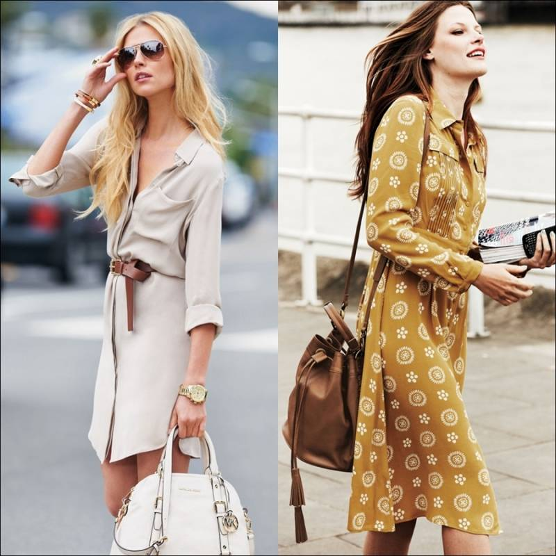 Try Out These Shirt Dresses this Summer!