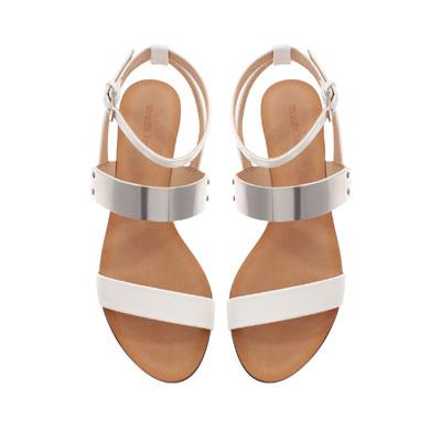 Metalic Flat sandals