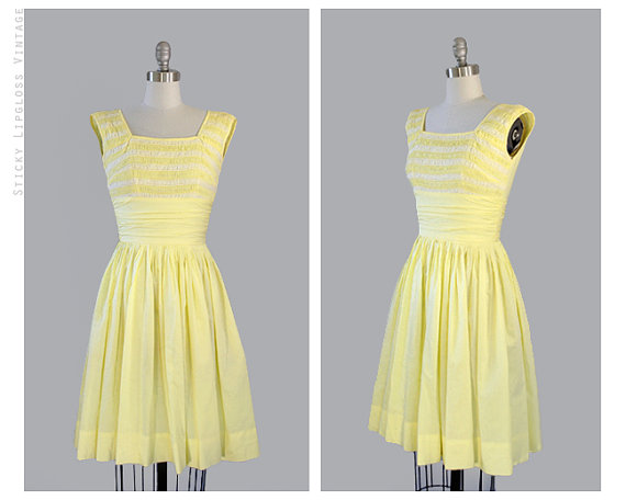 Pastel Yellow Dresses to stand out this Summer