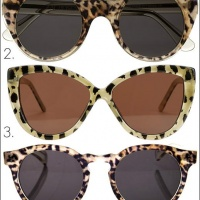 ASOS Leopard Print Sunglasses for the Summer of 2013