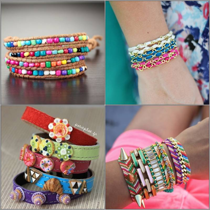 Who Will Wear These Cool Summer Bracelets?