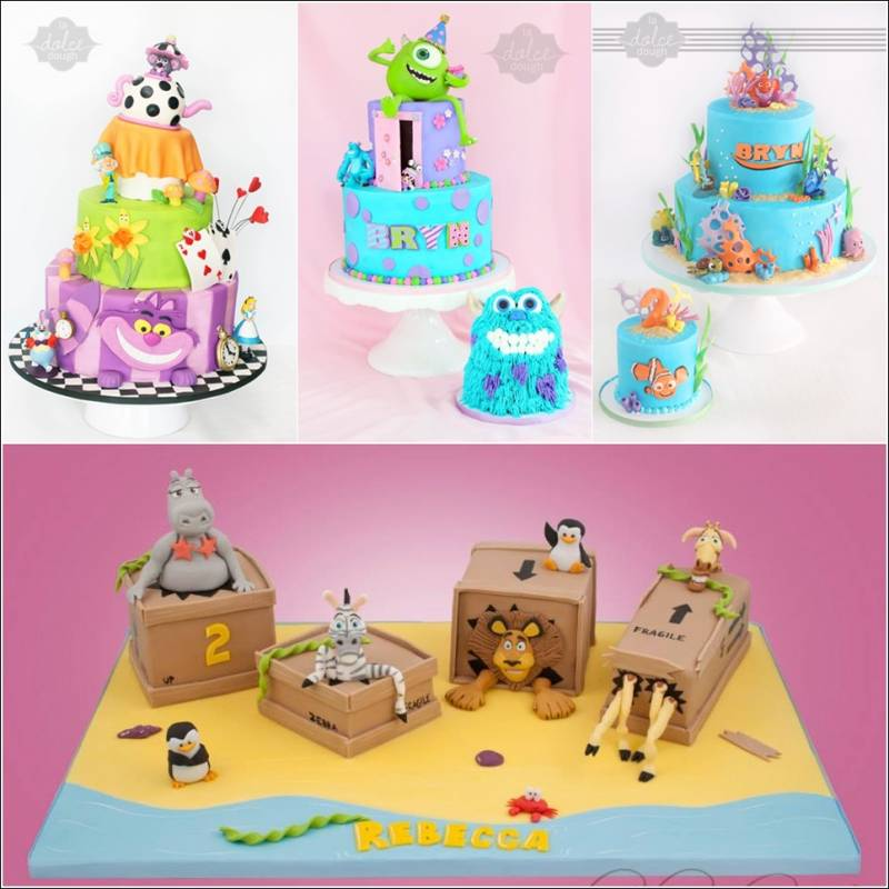 Cartoon Character Design For Cake : Cartoon movie inspired cakes would you like to have one