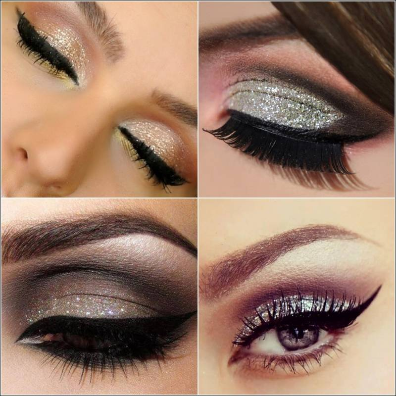Who Will Try Glittery Eye Makeup?