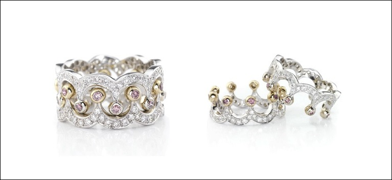 Turn a Princess by Wearing a Crown Ring