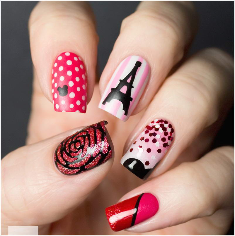Nail Art Brought For You From Around the World!