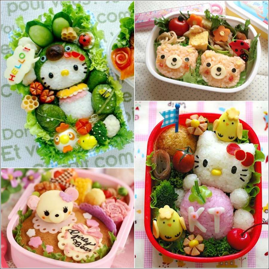 japanese bento box food art who can resist such a yummy food. Black Bedroom Furniture Sets. Home Design Ideas