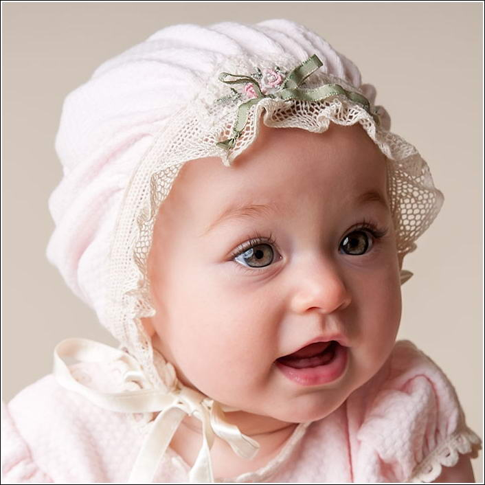 Beautiful Bonnets for Your Baby Girl! 0d40514115d