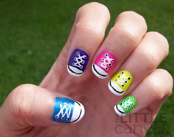 Oh so funky nail art 2 image source the little canvas prinsesfo Gallery