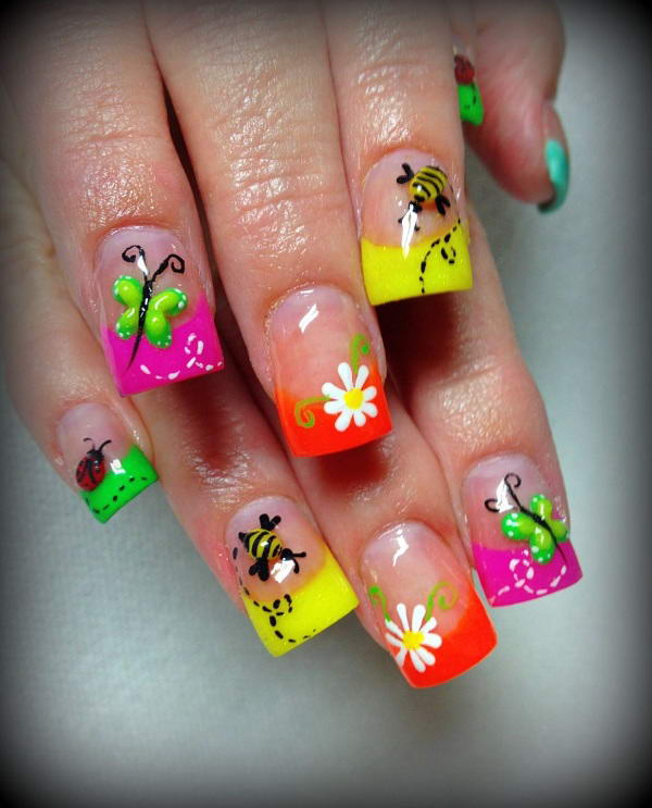 Oh So Funky Nail Art