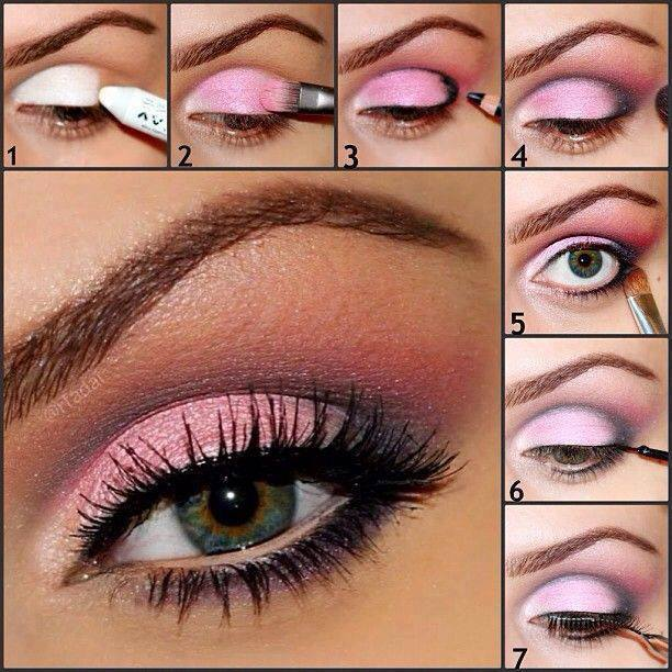You Pink Eye Makeup Ideas