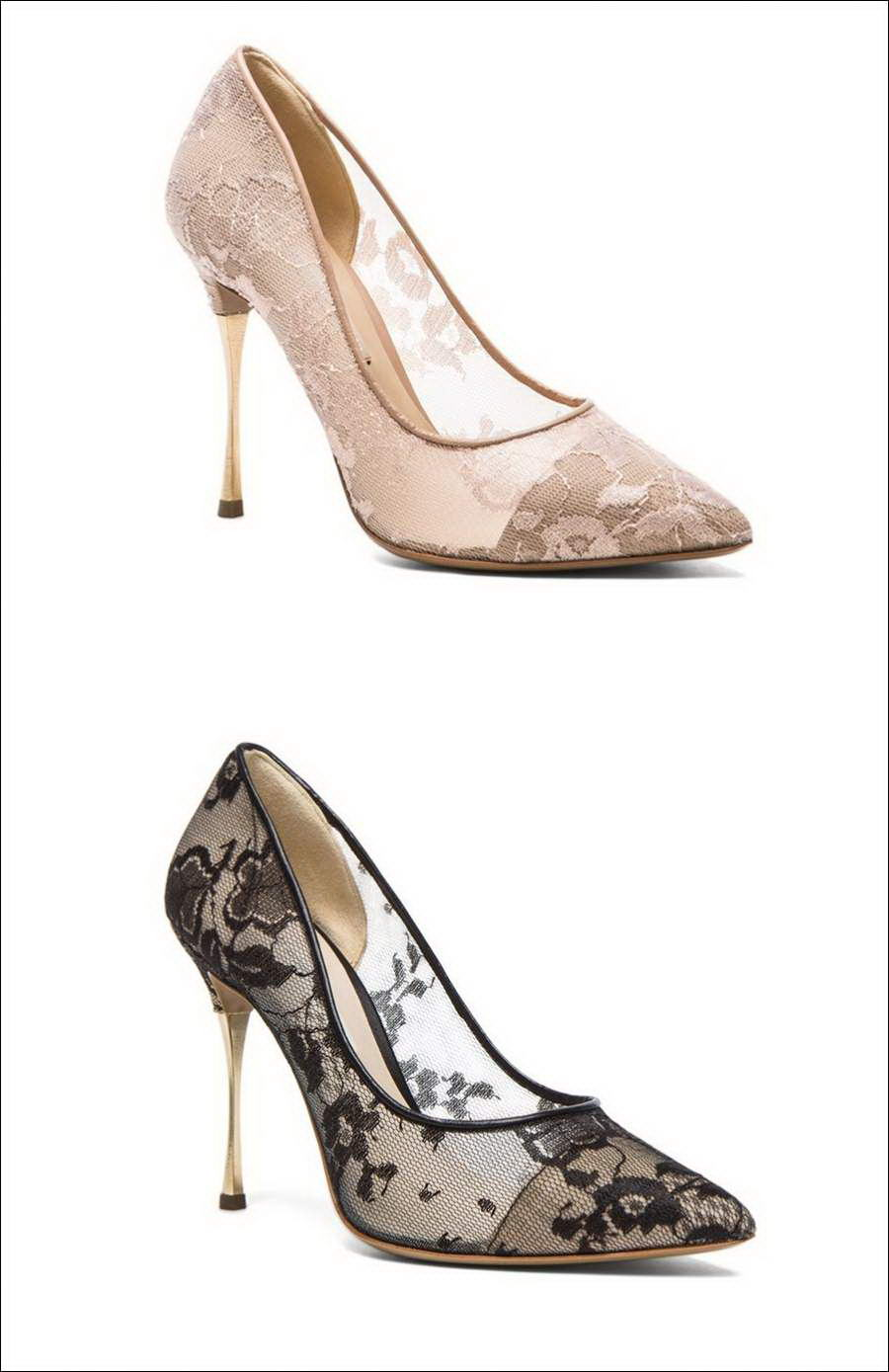 Who will Wear These Beauteous Lace Shoes