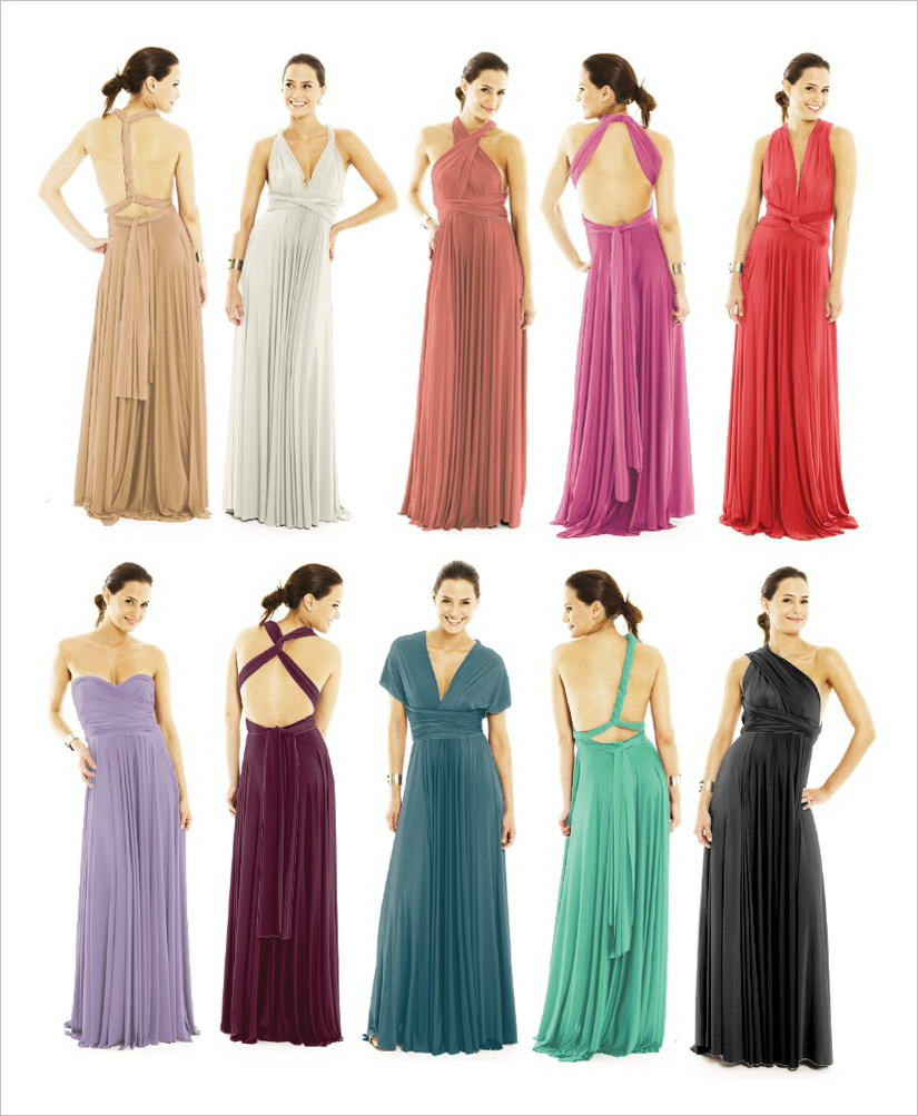 Who will try this convertible wrap dress two birds bridesmaid dress ombrellifo Images