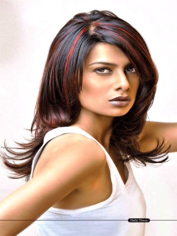 Hair Streaking Styles Top 10 Blue Hair Streaks Ideas Sheideas Of Hair Color Streaks For .