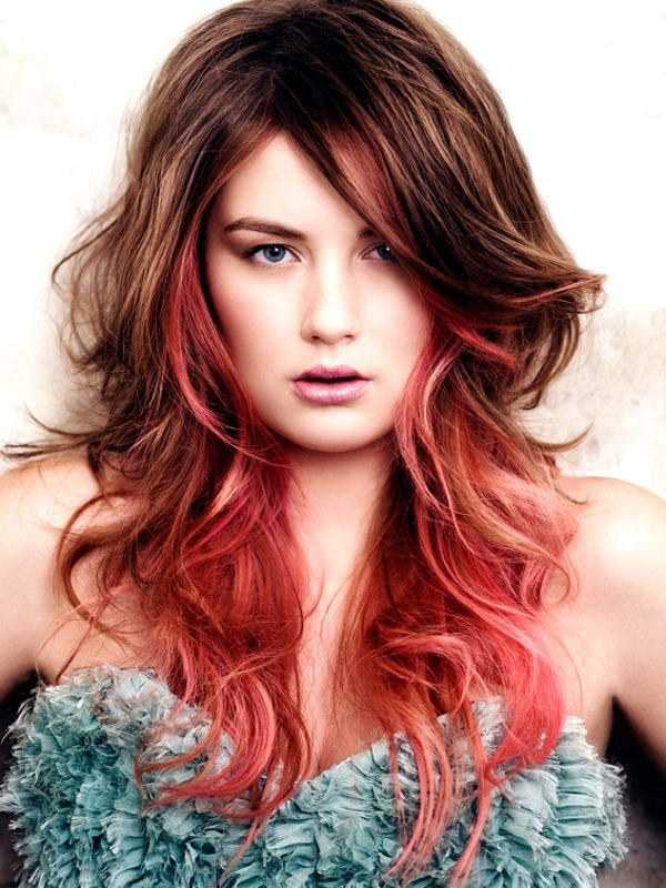 Hair Color Streaks For Brunettes Google Search Image