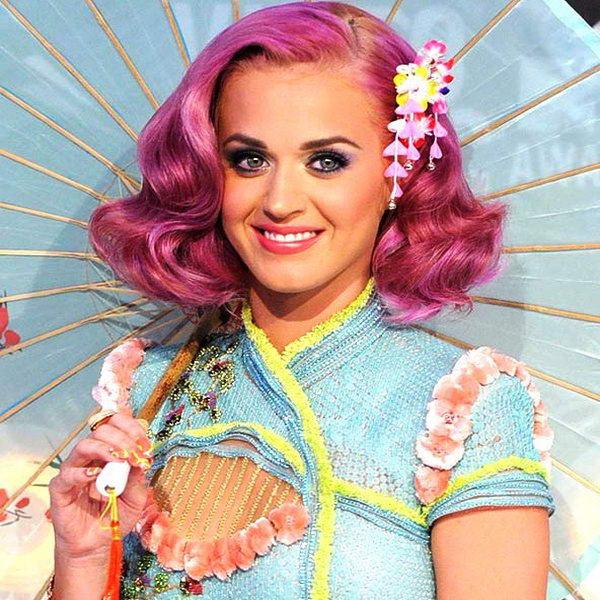 rainbow haircolour katy perry