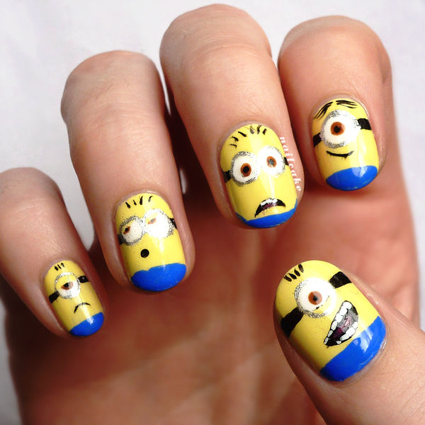 Check Out This Minion Nails