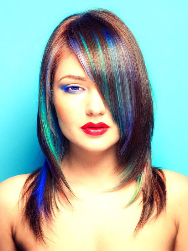 Hair Colour Streaks Fashion From Runway