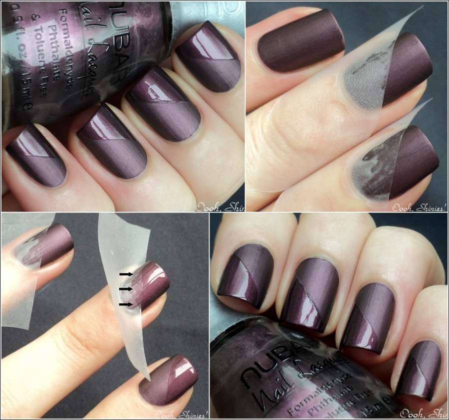 Time to Flaunt These Matte and Gloss Nails