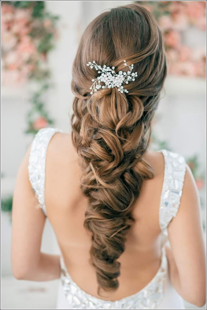 Elegant And Gorgeous Half Up Half Down Hairstyles