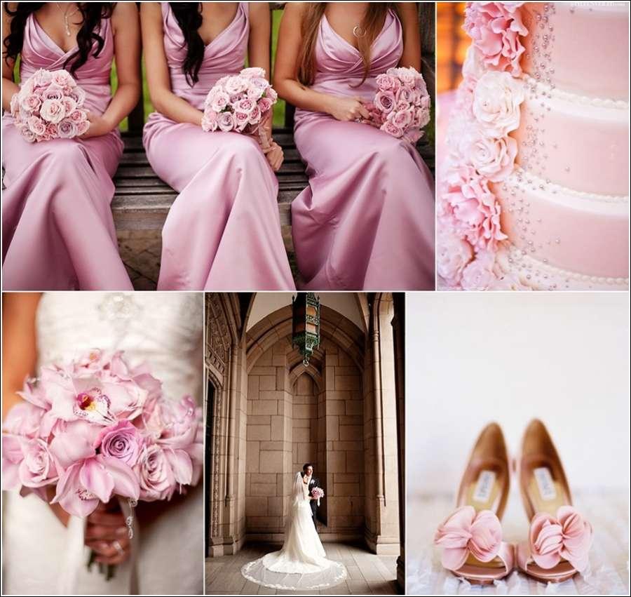 4 Fairytale Pink Wedding Theme