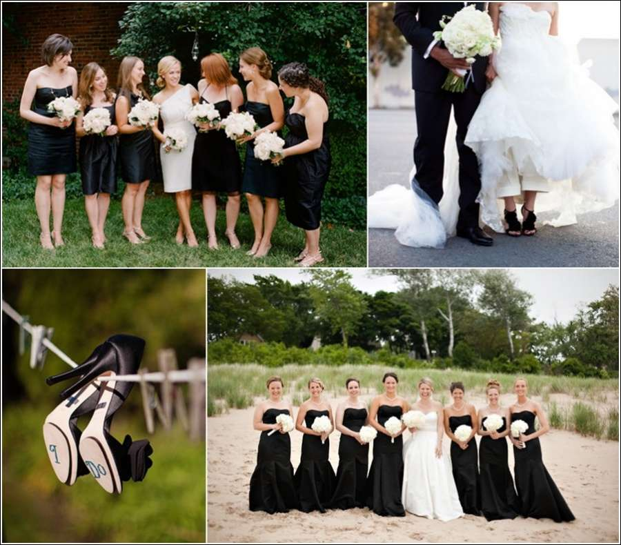 9 Daring Black Wedding