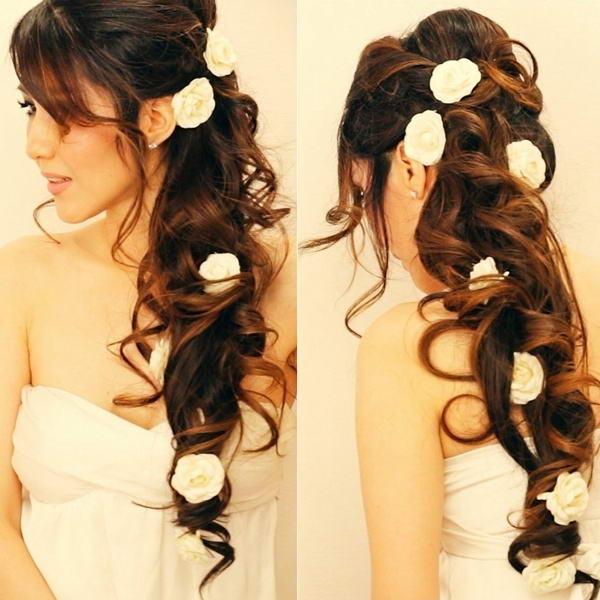 11 Gorgeous And Elegant Half Up Half Down Hairstyles: Elegant And Gorgeous Half-Up Half-Down HairstylesStylish Board