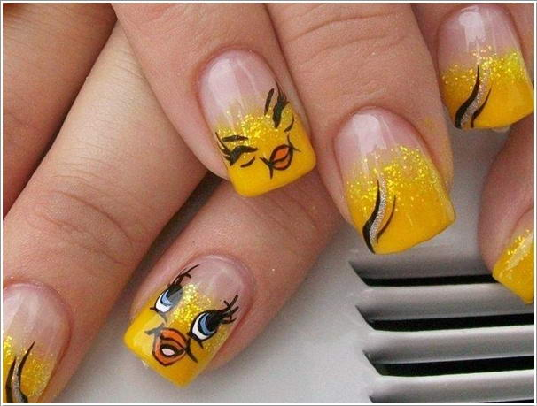 5 Cool Nail Art Designs For Cartoon Lovers