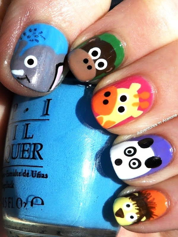 - Who Wants To Try These Cute Animal Nail Arts?