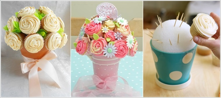 10 Awesome Cupcakes Display And Arrangement Ideas