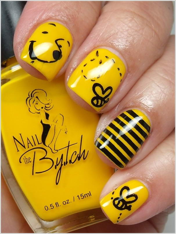 5 cool nail art designs for cartoon lovers 3 prinsesfo Image collections