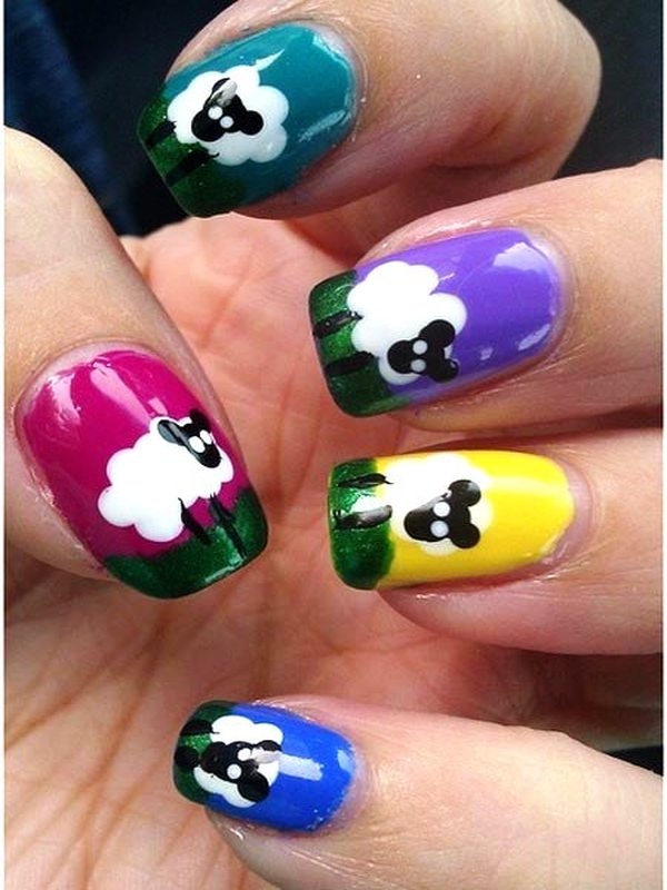Who Wants to Try These Cute Animal Nail Arts?