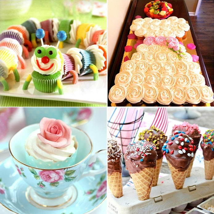 10 Awesome Cupcakes Display and Arrangement IdeasStylish Board