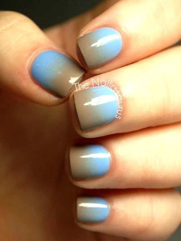 gradient nail arts