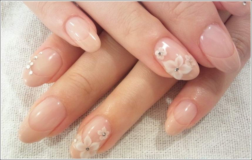 Gorgeous and elegant neutral nail art prinsesfo Image collections
