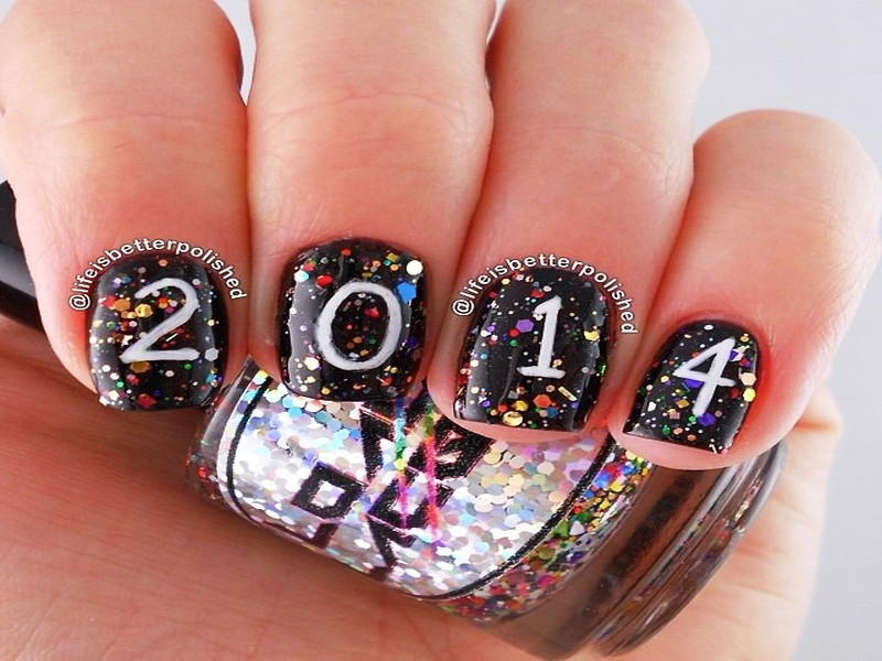 Who Wants To Try These New Year Nail Arts