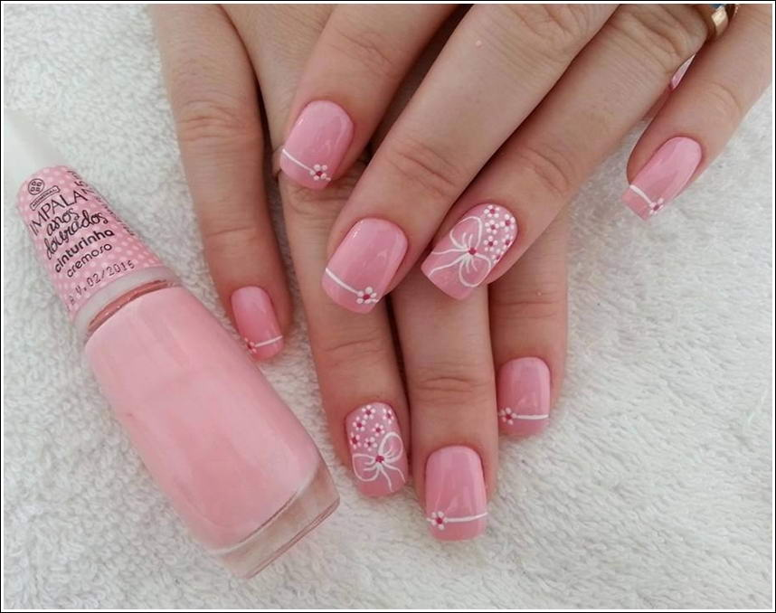 Gorgeous and elegant neutral nail art 4 prinsesfo Image collections