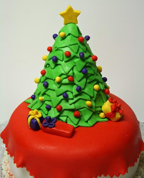 Simple Christmas Cake To Make With Children