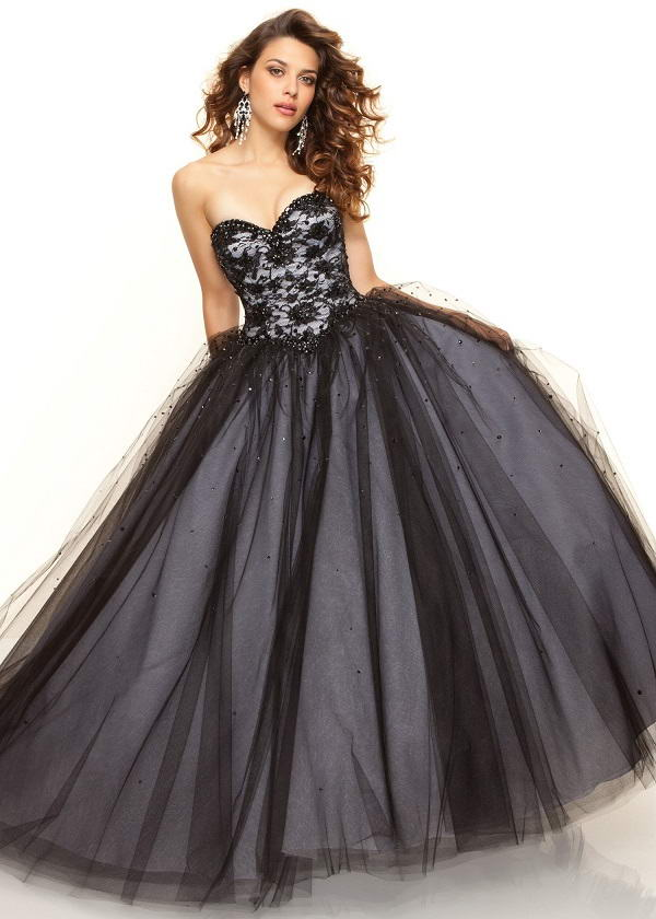 Black Lace Ball Gowns Are Perfect For Any Event