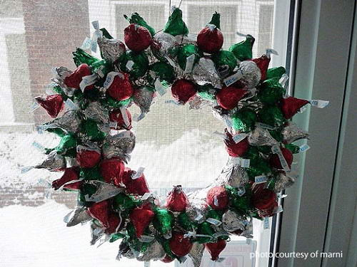 Christmas Chocolate Wreaths You Can Make At Home