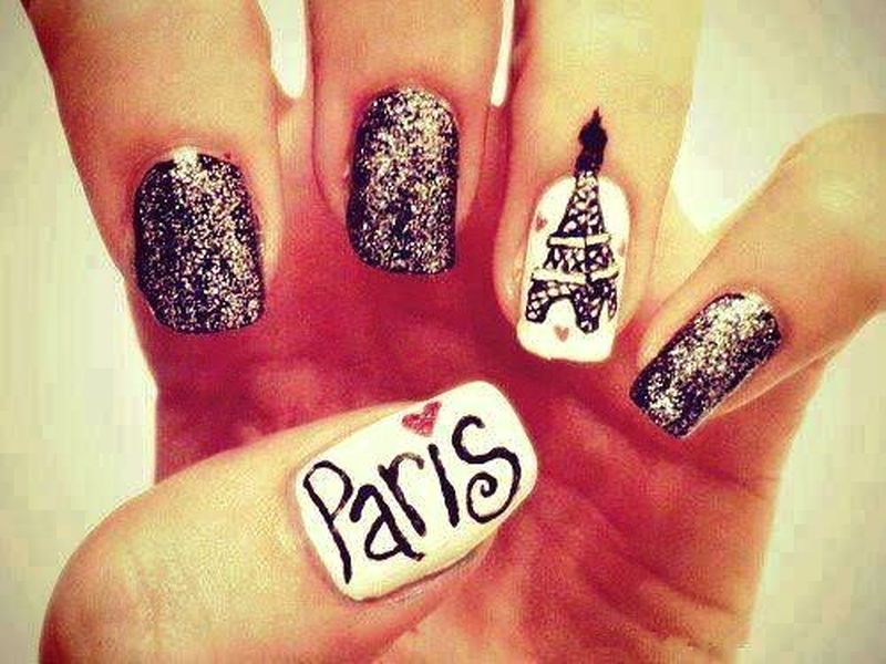 Who wants to have these paris nail arts paris nail art prinsesfo Images
