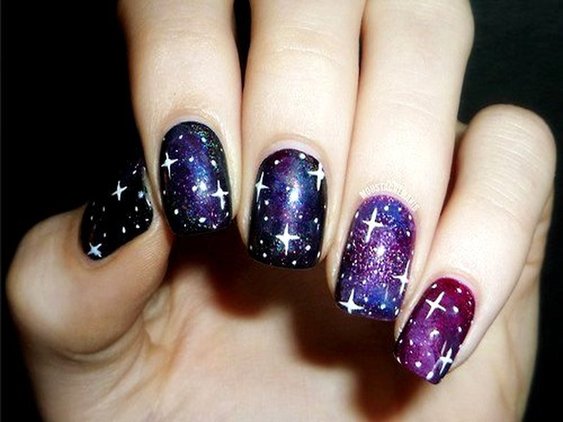 Who want to get these galaxy nail arts galaxy nail art solutioingenieria Images